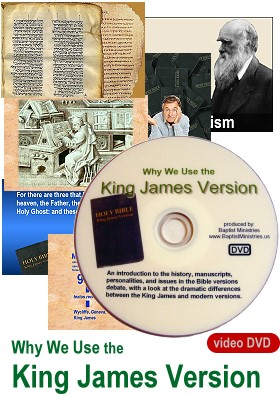 Why We Use the King James Version -- video DVD