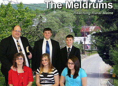 Pastor Ron Meldrum and Family